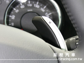 Peugeot 3008 自手排變速箱換檔撥片