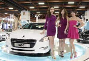 Peugeot 508 showgirl